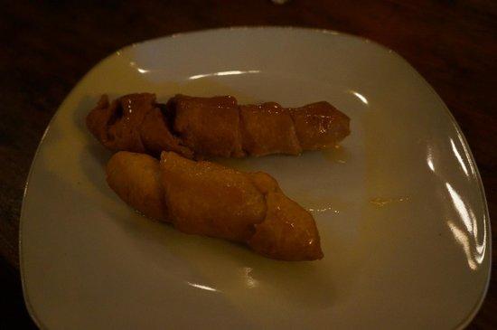 La Mariposa Spanish School and Eco Hotel : Dessert - Cheese straw