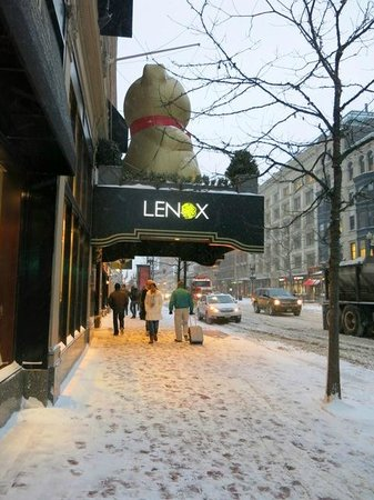 Lenox Hotel : So good to get back to the Lenox!