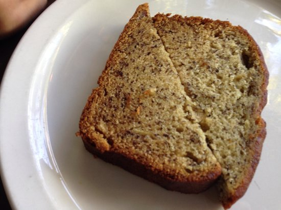 808 Bistro : warm banana bread is a slice of heaven