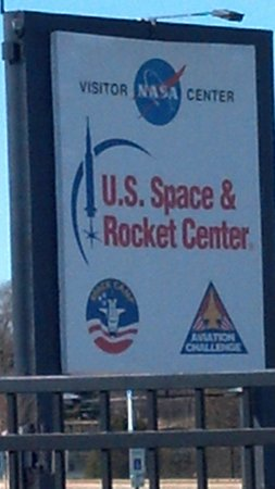 U.S. Space and Rocket Center: Center sign
