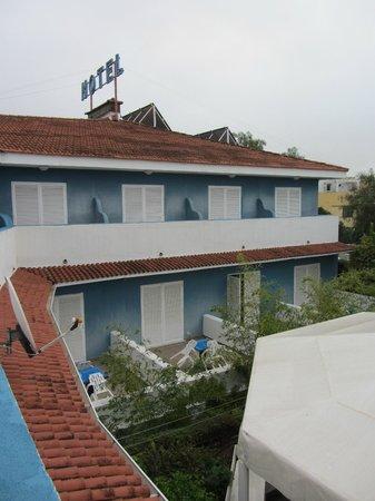Del Mar Hotel: Vista desde la terraza