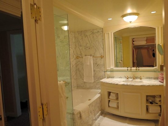 Grand America Hotel: King Premier Room bathroom
