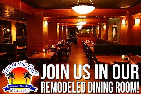Inn on the Gulf: New Dining Room