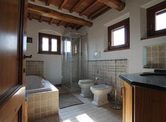 Podere Sanripoli : Il bagno