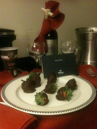 Hilton Miami Airport: My Sweet Birthday Gift