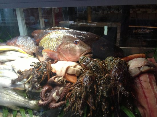 Simple: Their fish display