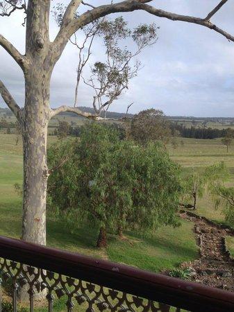 Kirkton Park Hotel Hunter Valley: View from room overlooking Hunter Valley