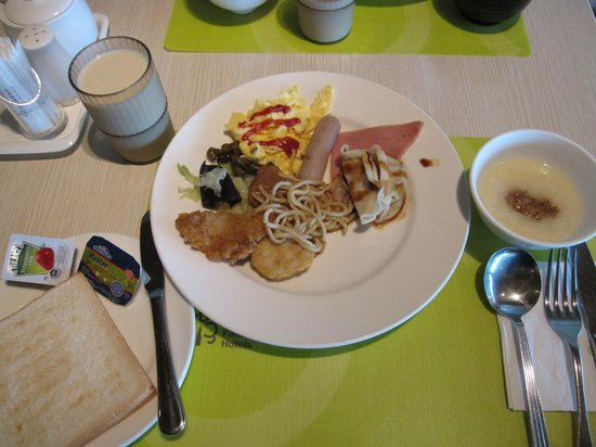 Park City Hotel-Tamsui Taipei: Breakfast buffet.
