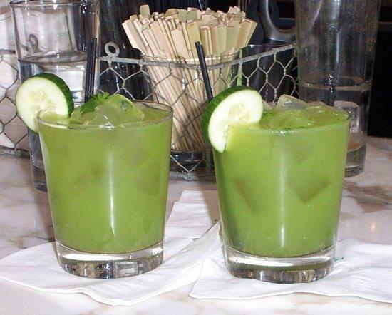 Trade cocktails--delicious!