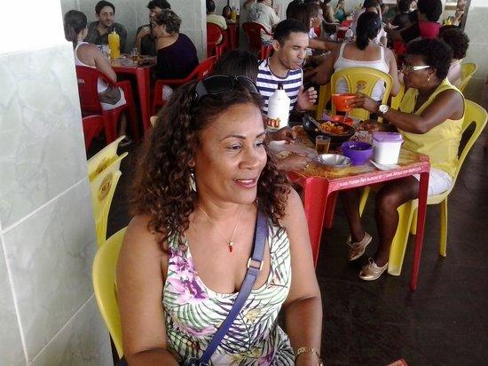 Boca de Galinha: Hora do almoço