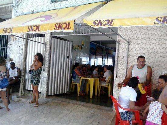 Boca de Galinha: Frente do Restaurante