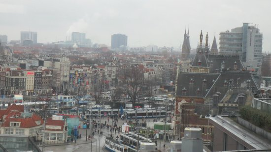 DoubleTree by Hilton Hotel Amsterdam Centraal Station: View  from roof top