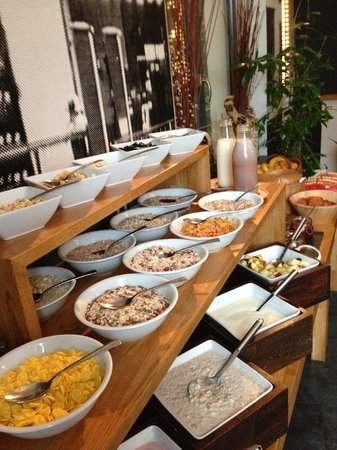 The Circus Hotel: Breakfast buffet (great regardless of your food preferences!)