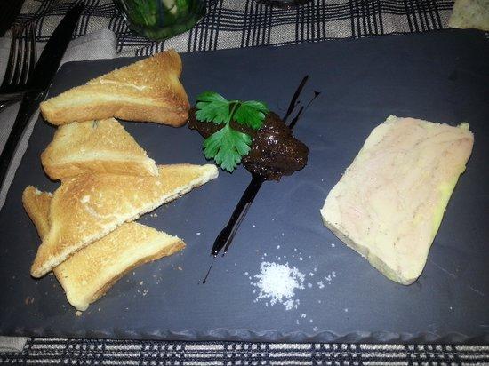 Restaurant le Garage : foie gras