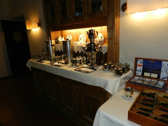 Hotel Weisses Kreuz : desayuno