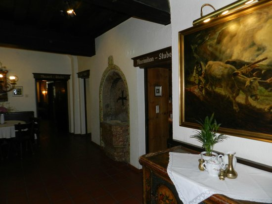 Hotel Weisses Kreuz : interiores