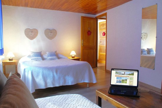 """Auberge Le Collet : Chambre spacieuse """"Vercors"""""""
