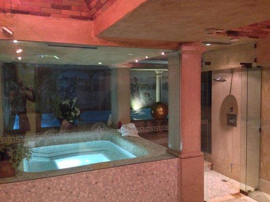 Grand Hotel Duchi D'Aosta: Idromassaggio
