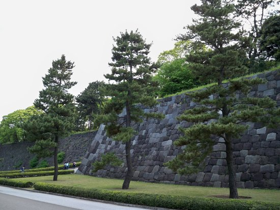 The East Gardens of the Imperial Palace (Edo Castle Ruin): Impressive