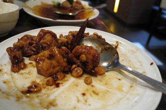 Ming's Restaurant: Vegetarian Kung Pao Tofu