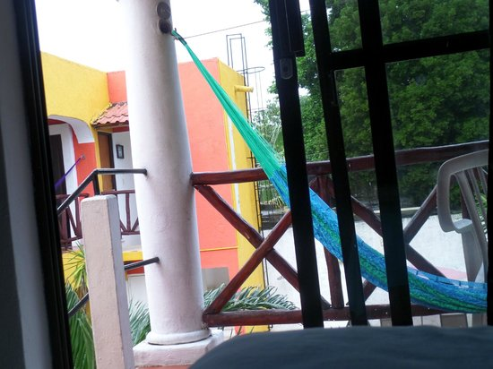 El Acuario Hotel: Vista desde nuestro cuarto