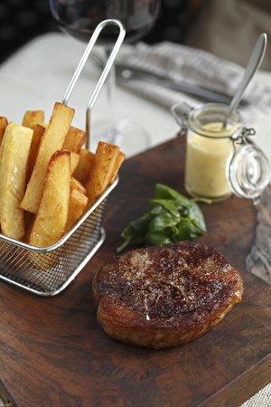 Stonehouse Restaurant: Hereford Rib Eye Steak