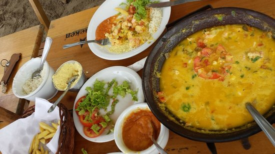 Sambass Café Restaurante: Moqueca.