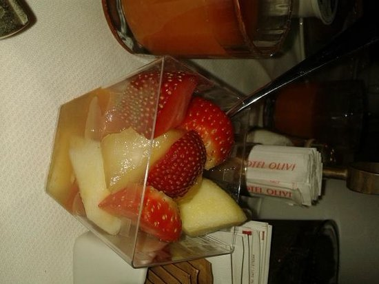Hotel Olivi Thermae & Natural Spa: Macedonia di frutta