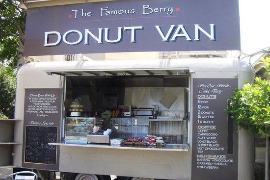 Famous Berry Donut Van