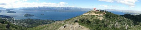 Cerro Otto: vista desde el cerro