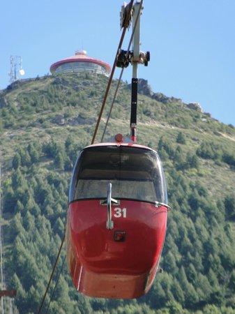 Cerro Otto: confitería y telesferico
