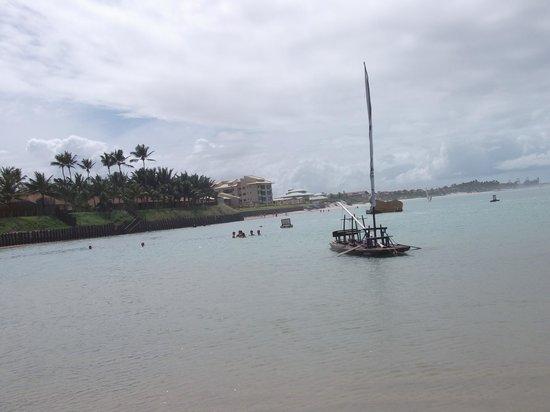 Pontal De Ocapora: Praia do Cupe, localizado perto do hotel