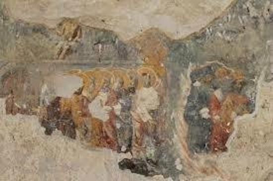 Sirince: A fresco in St. John's church.