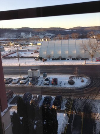 Mountaineer Casino Racetrack & Resort: View from room