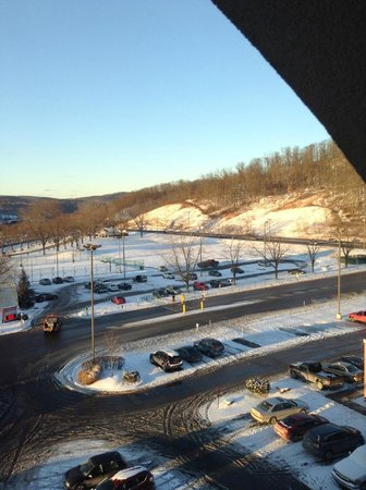 Mountaineer Casino Racetrack & Resort: View from resort