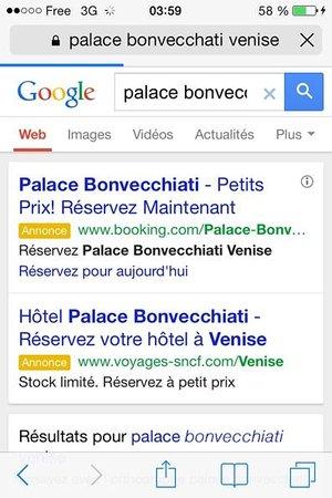 Palace Bonvecchiati : renseignement