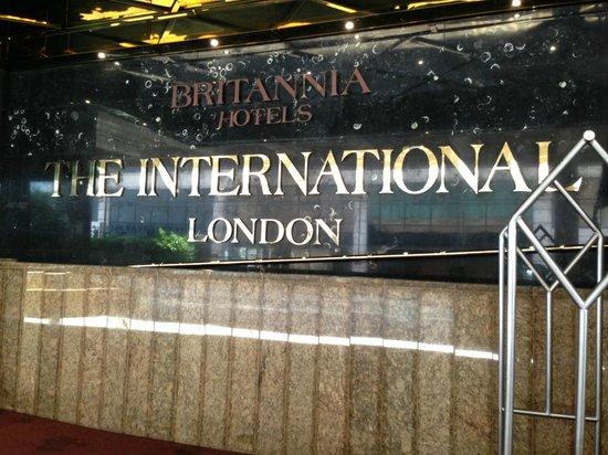 Britannia International Hotel : Entrance
