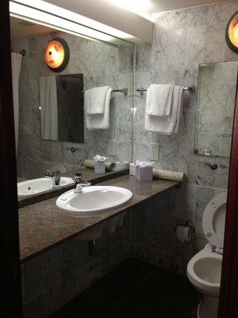 Britannia International Hotel : Bathroom