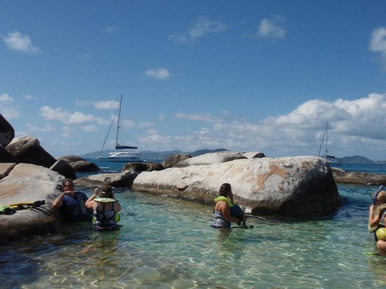 The Baths--The boulders, water and area are striking!