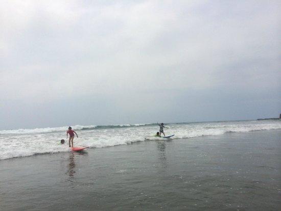 Balsa Surf Camp: surfing