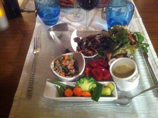 aux saveurs des paradoux: Grand assiette de legumes