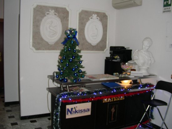 Nakissa Inn: Reception a Natale
