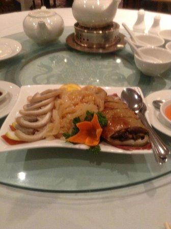Kirin Seafood Restaurant: Cold Dish