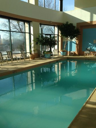 Wyndham Glenview Suites Chicago North: Heated pool