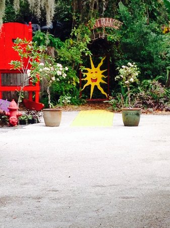The Children's Garden: Follow the yellow brick road into the mystical garden!