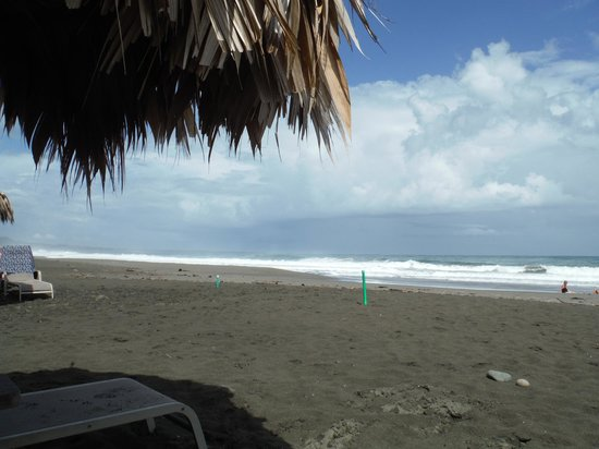 Hotel Banana Azul : Playa Negra beach