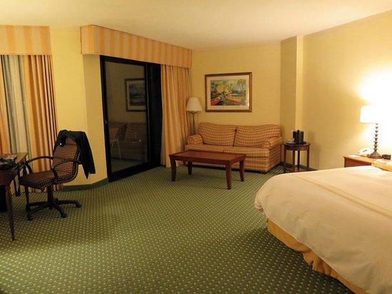 Hilton Head Marriott Resort & Spa : King Oceanfront Suite