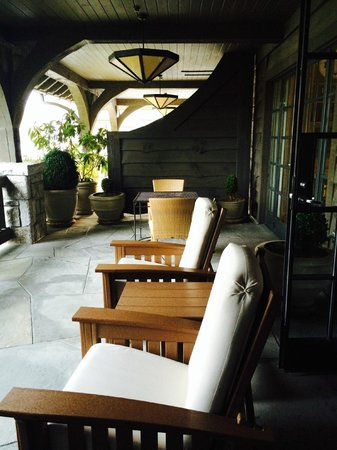 Old Edwards Inn and Spa: Spa suite terrace