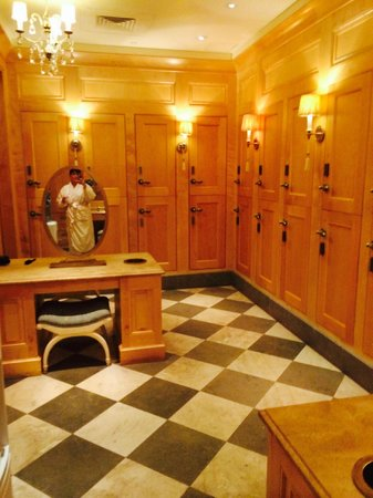 Old Edwards Inn and Spa: Ladies spa changing area
