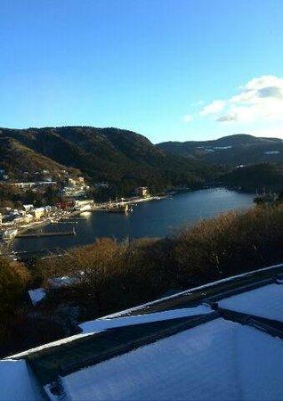 Washintei Hougetsu: 【芦ノ湖棟】3F部屋からの景色(12月末)